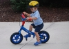 Boy on Mini Glider