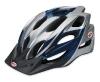 Bell Slant Helmet, Blue Silver