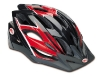 Bell Slant Helmet, Red Black