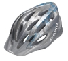 Giro Indicator Helmet, Silver Ice Blue Flowers