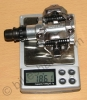 One Shimano M520 Weighs 186 g.