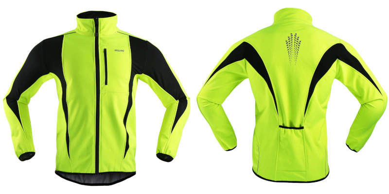 Arsuxeo jacket front and back
