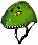 Raskullz Dinosaur helmet, color: Radgon Green