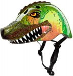 Raskullz Dinosaur helmet, color: T-Rad Rex Green
