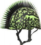 Raskullz Dinosaur helmet, color: T-Rex Bonez Black